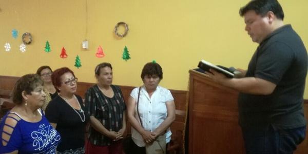 Nueva directiva de Asociación Femenina Metodista de Costa Sur