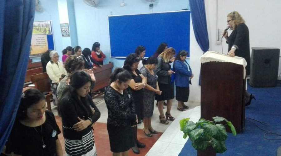 Mujeres metodistas renuevan promesa de seguir a Jesús