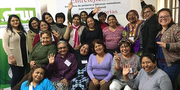 Lideresas metodistas: unidas en el fortalecimiento de sus ministerios pastorales.