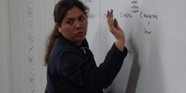 hna. LLuvia Collantes, coordinadora nacional del Programa Voluntarios en Acción (Provea) de la IMP
